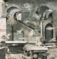 Adolf Hoffmeister In the Pisces Constellation, 1963