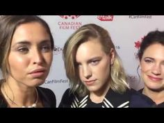 Below Her Mouth - Natalie Krill, Erika Linder, April Mullen Natalie Krill, Below Her Mouth, Erika, Crushes, Interview, Actresses, Film, Red Carpet, Youtube