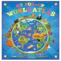 Penguin Random House My Pop-Up World Atlas By Anita Ganeri Cuento Pop Up, Atlas Book, Libros Pop-up, Geography For Kids, Map Shop, Up Book, Penguin Random House, Learning Toys, Free Reading