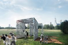 Cast & Place has been announced as the winner of the 2017 City of Dreams competition to create a pavilion for New York City's Governors Island....