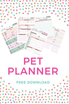 Free Pet Planner: If you are planning an out-of-town trip, it's nice to have easily accessible and well-organized information for your pet sitter. I also keep this information next to my pet emergency kit. If disaster strikes, it's nice to be well prepared and have all your much-needed info (microchip, vaccines, medical records, allergies, ..) ready to go. Click through to download or repin and save for later!
