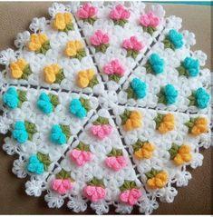 Crochet Flower Tutorial, Easy Crochet Patterns, Baby Knitting Patterns, Diy Crochet, Crochet Doilies, Crochet Flowers, Sewing Patterns, Owl Scarf, Crochet Rings