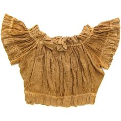 70s Embroidered Indian Crop Top Haystack Yellow Ochre Boho Bandeau... ($42) ❤ liked on Polyvore featuring tops, boho shirts, embroidered crop top, bohemian shirts, boho crop top and yellow shirt