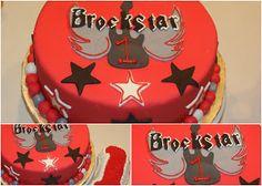 Carly's Cakes: Rock Star 1st Birthday