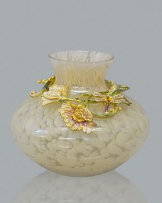 LOVE IT~~~Jay Strongwater Florina Floral Vine Vase - Neiman Marcus