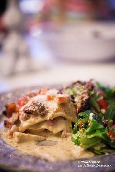 Lasagne a la Chicken Alfredo LCHF / Low carb