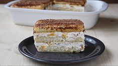 Vanilla Cake, Tiramisu, Banana Bread, French Toast, Breakfast, Ethnic Recipes, Desserts, Canning, Food