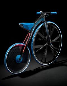 Concept e-bike 1865 Rethinking Materials, vintage et moderne !