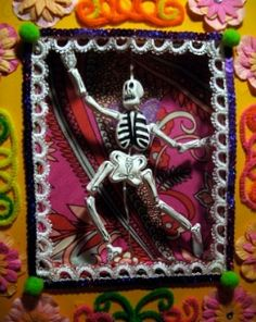 Day of the dead shadow box