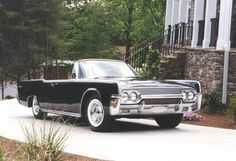 The 1961 Lincoln Continental... I'll be honest; I'm mainly in this for the suicide doors. The front is ugly as sin but it was good enough for Mobsters and Presidents alike so who am I to judge.