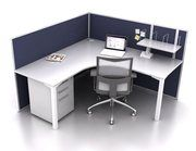 Smart50 2 Person 90 Degree Workstation by JP Office Workstations http://www.jpofficeworkstations.com.au/