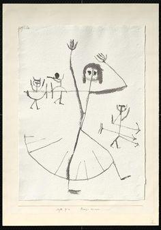Paul Klee - Tanz-Szene, 1938