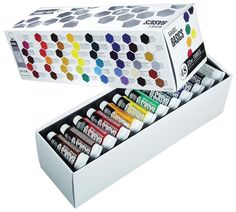 Paint Tube 48-Piece Set Liquitex BASICS Acrylic #Unbranded  for 43$