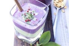 Wild Blueberry Avocado Smoothie