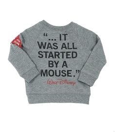 Baby Mickey Mouse Crew - It was all started by a mouse. Walt Disney
