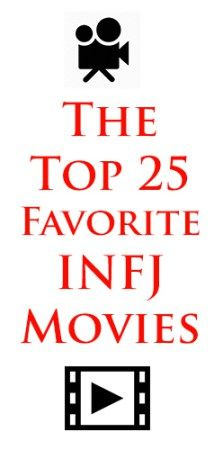 Never would have thought there would be infj movies but this is so interesting. Also seems to be very accurate!