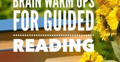 Brain Warm Ups and Key Word Summaries