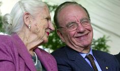 Rupert Murdoch's mum is 102.  I should rename this board 'people who are 100 or more'.