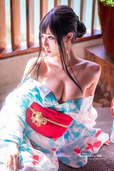 HaneAme original Hot Spring kimono lingerie by HaneAme on DeviantArt Cute Asian Girls, Cute Girls, Asian Model Girl, Cute Japanese Girl, Beautiful Asian Women, Cosplay Girls, Asian Woman, Asian Beauty, Kimono