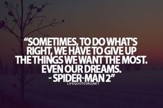 Spiderman Love Quotes Beauteous Favorite Quote From The Good2Grow Team  Superheroes  Pinterest
