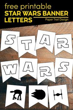 Star Wars Birthday, Star Wars Party, Boy Birthday, Birthday Parties, Birthday Stuff, Fun Printables For Kids, Free Printables, Party Printables, Star Wars Classroom