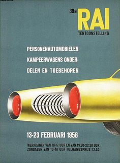 Chr. Brouwers, poster for RAI Tentoonstelling, 1958