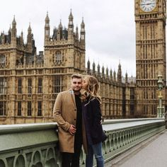 couple in London//
