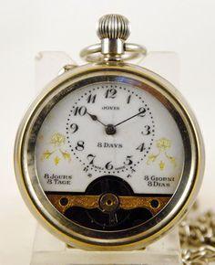 Reloj lepine HEBBDOMAS JOVIS c.1900
