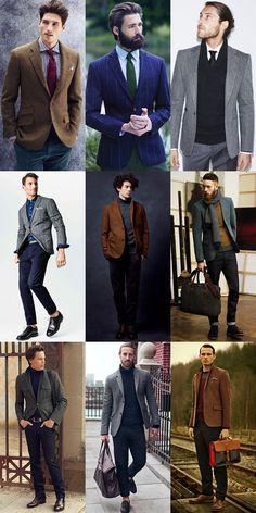 Men's Modern Alternative to Vintage Classics: Tweed Blazers Outfit Inspiration Lookbook