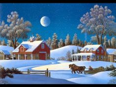 Christmas Winter Scenes Wallpaper Free Sf Wallpaper Get Free Christmas Pictures Here Do. Merry Christmas, Christmas Scenes, Christmas Music, Vintage Christmas Cards, Country Christmas, White Christmas, Norwegian Christmas, Christmas Christmas, Snow Scenes