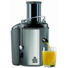 Big Boss Juicer, 700W 18,000 RPM.  List Price: $129.00