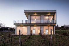 Réalisation d'une maison à Challex dans l'Ain par Zoomfactor Architectes - Journal du Design
