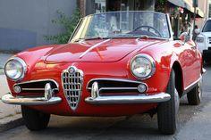 1959 Alfa Romeo Giulietta Spider Veloce.     Link with information.    sas