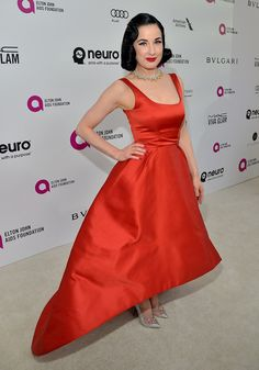 Dita Von Teese | 46 Photos That Prove How Amazing Everybody Looked At The Oscars After-Parties