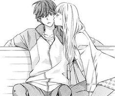 kiss manga cap   Tumblr on We Heart It