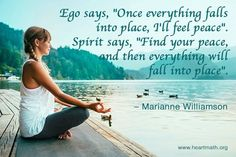 Marianne Williamson, Growth Quotes, Finding Yourself, Spirit, Peace, Feelings, Sayings, Quotes About Growth, Lyrics