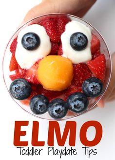 Elmo Toddler Playdat