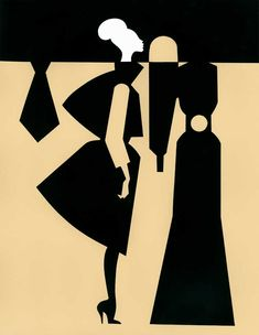 Piet Paris #fashionillustration