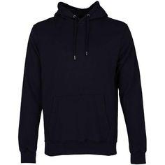 Colorful Standard - Organic Hoodie Black - S Plain White T Shirt, Hunter Green, Unisex Fashion, How To Run Longer, Black Hoodie, Wardrobe Staples, Organic Cotton, Hoodies, Stylish