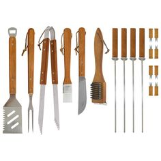 Gaia BBQ WoodenHandle Best Choice Products 18pc Stainless Steel Grill Tool Set  Box Storage Case-in Tool Sets from Home, Kitchen & Garden on Aliexpress.com   Alibaba Group