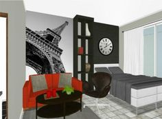 From a twitter follower -- What do you think about this efficiency apartment?  :)    image credit: @fransira  http://www.roomsketcher.com/gallery/projects/