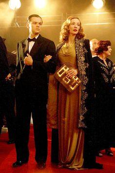 "Leonardo DiCaprio and Cate Blanchett in ""The Aviator"""
