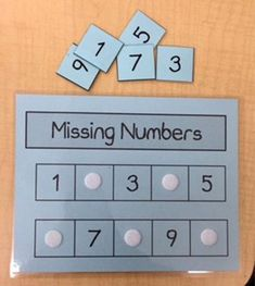 Numbers Game Learning Game-Kindergarten Game-Preschool Game-Kids Game File Folder Game/Missing Numbers/Children's Game – Toys Ideas Portfolio Kindergarten, Kindergarten Readiness, Kindergarten Classroom, Number Games Kindergarten, Kindergarten Centers, Number Games For Preschoolers, Number Games For Kids, Teaching Numbers, Montessori Elementary