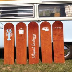 If you'd love to give surfing a shot but are worried about not being able to stand up, then why not give belly boarding a go. Using simple wooden boards, you lay flat on your front and ride the waves into shore. Its heritage dates back over 100 years in the UK and the design of these thin wooden boards was inspired by the ancient Hawaiin 'paipo' boards. We love these cool designs from The Original Surfboard Company (£75) which are hand made in the UK.