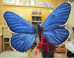 Butterfly puppets!