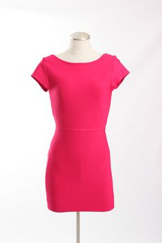 BCBGMAXAZRIA Body Con Dress with Exposed Zipper Detail - $57.00