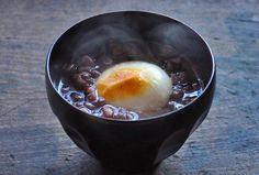 Zenzai – In Okinawa Prefecture, refers to red bean soup served over shaved ice with mochi