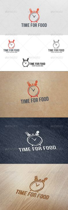 Food Time - Logo Template - Food Logo Templates