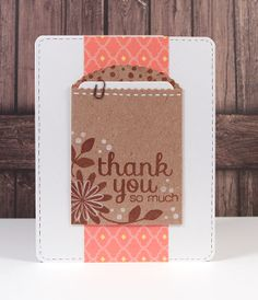 Simon Says Stamp Blog!: Thank You So Much (Simon Says Stamp March 2013 Card Kit)