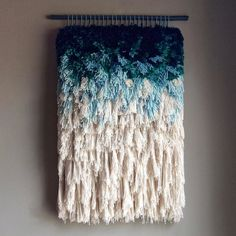 So you are ready to start weaving, but how do you set up a frame loom to begin?) To start with some basic weaving terms, the Weaving Textiles, Weaving Art, Loom Weaving, Tapestry Weaving, Hand Weaving, Colorful Tapestry, Do It Yourself Baby, Weaving Wall Hanging, Wall Hangings